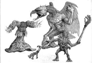 Demonios de Tzeetnch Realm of Chaos por Tony Ackland.jpg