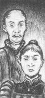 Ludovico y mathilda reuter por Martin McKenna