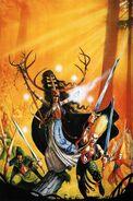 Portada Libro de Ejército Elfos Silvanos 5ª edición por Dave Gallagher