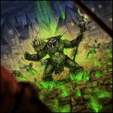 Warhammer Cataclysm Metalfoot Groundcrusher Mark Molnar Chamán Orco.jpg