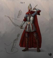 Warhammer age of reckoning conceptart Guerrero Sombrio 03 Altos Elfos