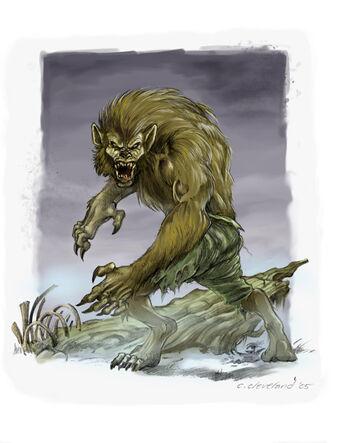 Cuando Florece la Maldición del Lobo por Caleb Cleveland Licántropo.jpg