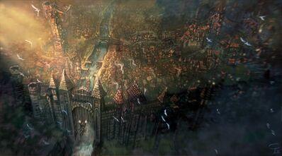 Vista aérea de Übersreik por Victor P. Corbella.jpg
