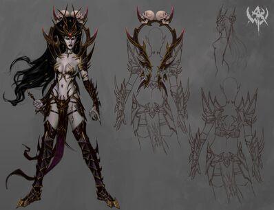 Elfa Bruja 07 Warhammer Online Arte Conceptual.jpg
