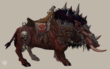 Jabalí de Guerra armadura ligera por Erik Polak Warhammer Online.jpg