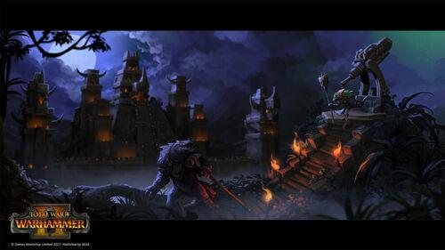 Templo pirámide warhammer total war por Stoyan Stoyanov.jpg