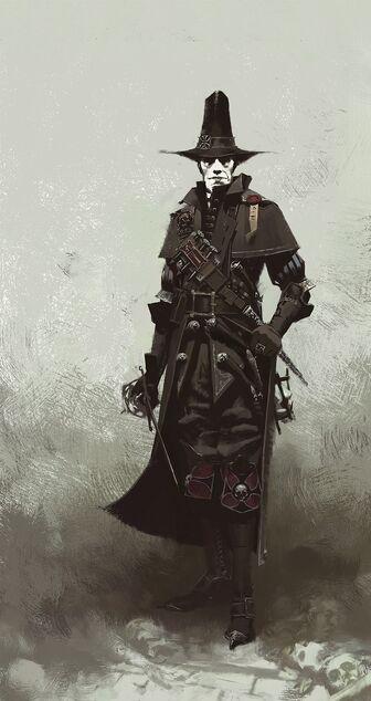 Victor Saltzpyre Cazador de Brujas Arte Conceptual Warhammer Vermintide.jpg