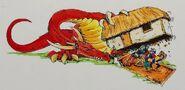 Dragón buscando por Dave Gallagher