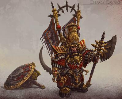Enano del Caos Warhammer Online por Michael Phillippi.jpg