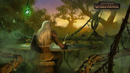 Correo postal Elfos Silvanos por Milek Jakubiec Warhammer Total War.jpg