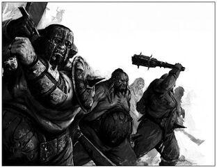 Tripasduras Reinos Ogros 6ª Edición ilustración B&N.jpg