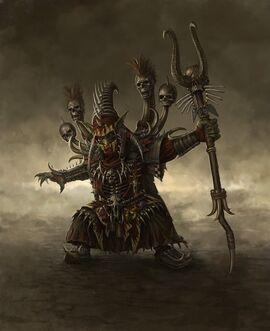 Chamán Goblins por Sven Bybee.jpg
