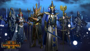 Heroes altos elfos warhammer total war por Plamen Genov