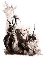 Caldero de Sangre por Dave Gallagher Elfas Brujas