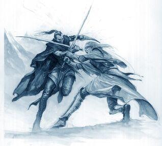 Eltharion vs Shadowblade Karl Kopinski.jpg