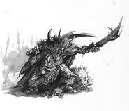 Jefe Goblin por Dave Gallagher