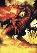 La Sangre del Dragón por Clint Langley Malok