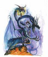 Dragón del Caos por Dave Gallagher