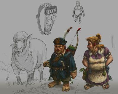 Halflings Warhammer Online por Michael Phillippi.jpg