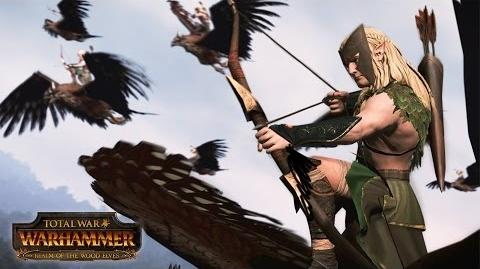 Total War WARHAMMER - Realm of the Wood Elves - Announcement Trailer PEGI SPA-0