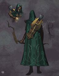 Warhammer Online age of reckoning Imagen Guerrero Sombrio Altos Elfos 02