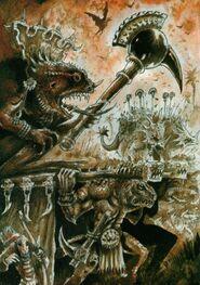 Mago Sacerdote Slann por John Blanche