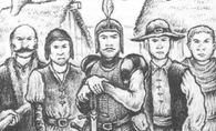 Parzival y la milicia por Martin McKenna