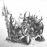 Skarsnik y Gobbla por Mark Gibbons Goblins Nocturnos