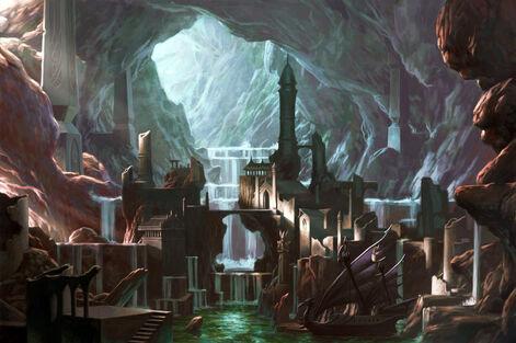 Ciudad Subterranea Altos Elfos por Chris Dien.jpg
