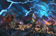 Portada Warhammer Total War II Arte por Slawomir Maniak