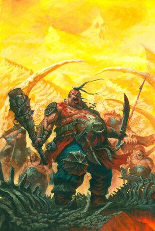 Portada Reinos Ogros 8ª edición por Tze Kun Chin Despota.jpg