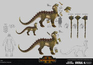 Zoat warhammer total war concept art por Tony Sart