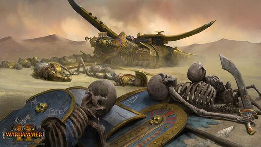 Derrota reyes funerarios warhammer total war por Milek Jakubiec-0.jpg