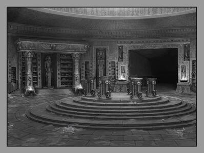 Biblioteca Interior Reyes Funerarios por Sven Bybee.jpg
