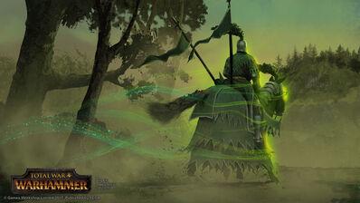El Caballero Verde parte por Milek Jakubiec Warhammer Total War.jpg