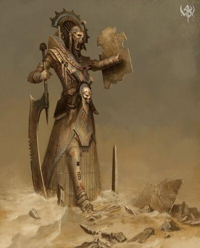 Estatua de Nagash Nehekhara por Daarken.jpg