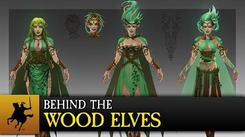 Total War WARHAMMER - Behind The Wood Elves COMBI