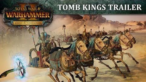 Total War WARHAMMER 2 - Tomb Kings Trailer PEGI SPA