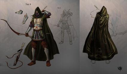 Warhammer age of reckoning conceptart Guerrero Sombrio 04 Altos Elfos