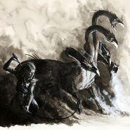 Hidra y Señor de las Bestias por Dave Gallagher