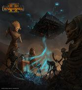 Pirámide de nagash reyes funerarios warhammer total war por Stoyan Stoyanov