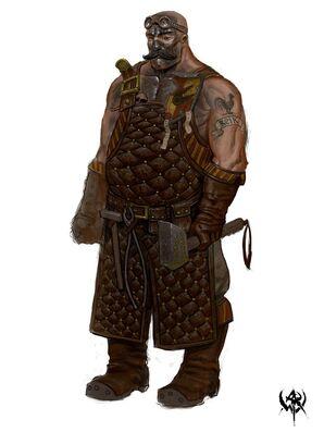 Herrero Warhammer Online por Mike Franchina.jpg