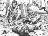 Asesinato por Russ Nicholson