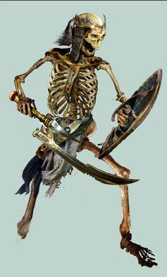 Guerrero Esqueleto 3 Nagash el Hechicero por Jon Sullivan.jpg