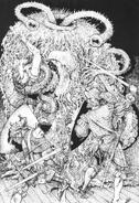Horror hechizante por Russ Nicholson