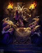 Cultistas de Tzeentch - Enemigo en las Sombras por Mark Gibbons