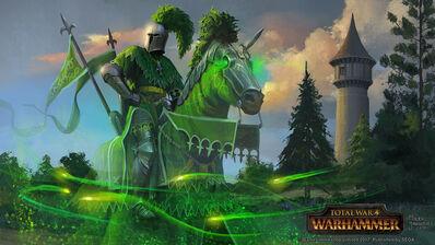 El Caballero Verde por Milek Jakubiec Warhammer Total War.jpg