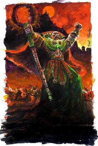 Boceto portada Keepers of the flame por Geoff Taylor Volkmar.jpg