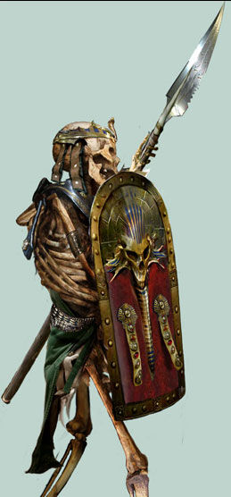 Guerrero Esqueleto 4 Nagash el Hechicero por Jon Sullivan.jpg