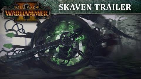 Total War WARHAMMER 2 – Skaven In-Engine Trailer SPA